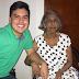 Mamá Vila' le dio un sentido homenaje a su nieto moisés.