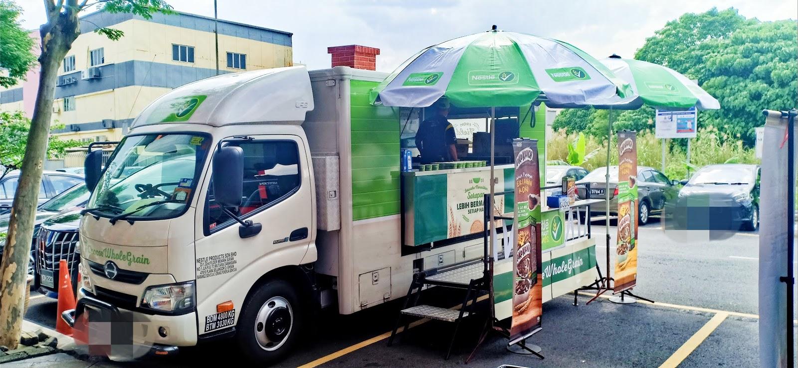 Lori Nestle (Coco Crunch & Nescafe) Datang Kolej | Cara Panggil Lori Nestle Datang Sekolah / Kolej