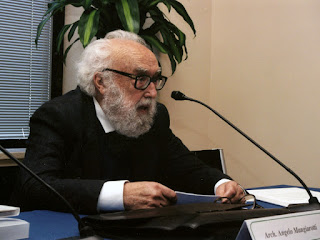 Angelo Mangiarotti, pictured at a conference in 2007