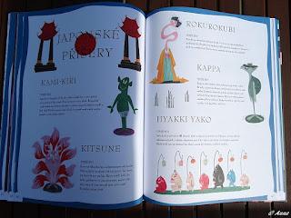 Dětská ilustrovaná knížka plná duchů a příšer