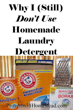 Why Homemade Laundry Detergent Doesn't Work