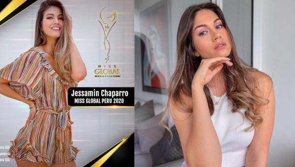 Jessamin Chaparro es Miss Global Perú 2020