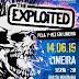 The Exploited: lenda do Punk Rock se apresenta no Bar da Montanha em Limeira