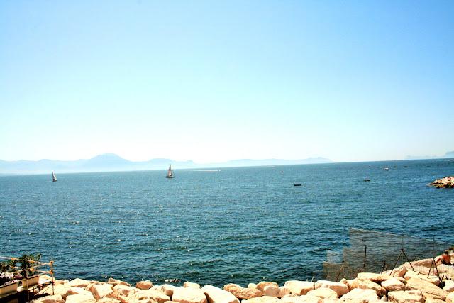 mare, acqua, cielo, sassi, vele, vacanze