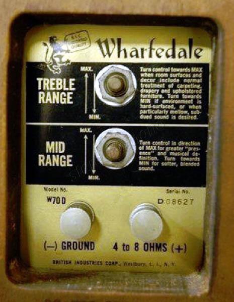 Stereonomono Hi Fi Compendium Wharfedale W70d