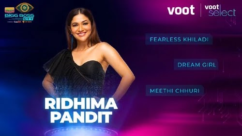 bigg boss ott contestants ridhima pandit