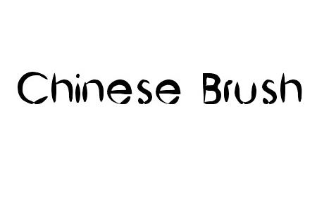 BRUSHTIP-C FONT