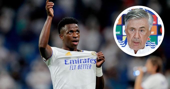 Ancelotti reveals 'what he did' to Vinicius to have him improve so quickly