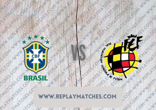 Brazil U23 vs Spain U23 -Highlights 07 August 2021