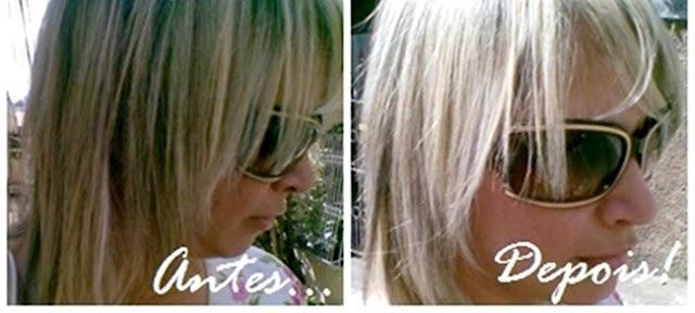 desamarelar cabelos com violeta genciana