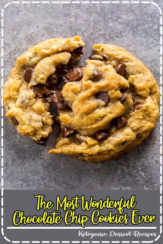 Thick and chewy vegan chocolate chip cookies The Most Wonderful Chocolate Chip Cookies Ever