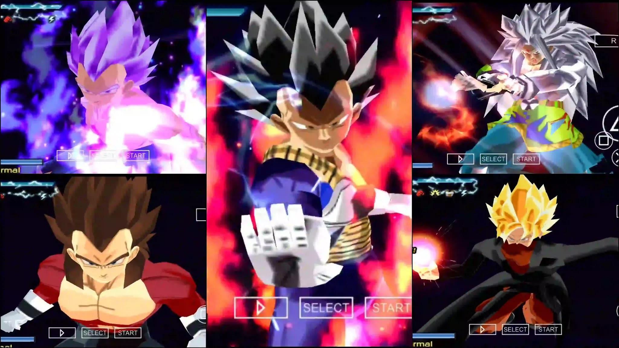 Dragon Ball Super Vegeta Ultra Ego DBZ TTT MOD
