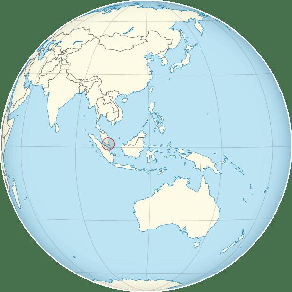 Letak Singapore