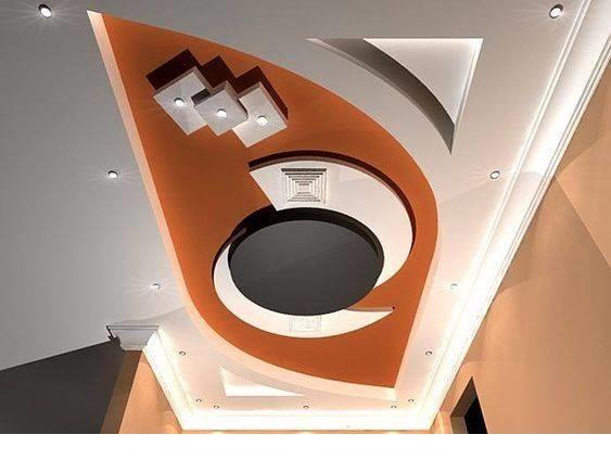 45 Modern False Ceiling Designs For Living Room Pop Wall