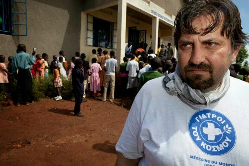 """Στο ευρωψηφοδέλτιο του ΣΥ.ΡΙΖ.Α ο Γραμματέας της""""ΚοινωνικήςΣυμφωνίας"""" και Γραμματέας των Γιατρών του Κόσμου κ. Νικήτα Κανάκη"""