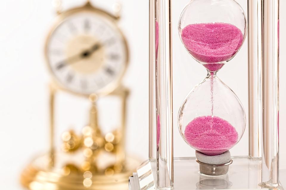 upływ czasu, zegar