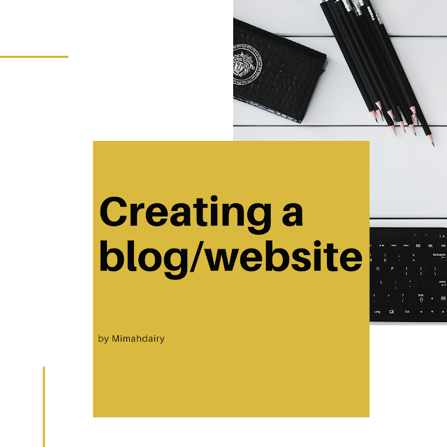 Creating a blog for the love of it or website in 2021, all you need to know.