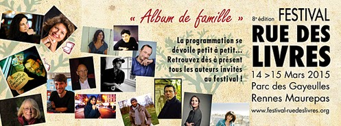 Le Festival Rue des Livres 2015 (Rennes)