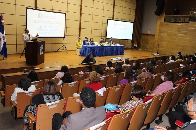 Ney Arias Lora realiza VIII Jornada de Enfermería; este año enfocado en temas relevantes a la pandemia
