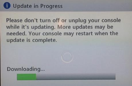 update xbox 360