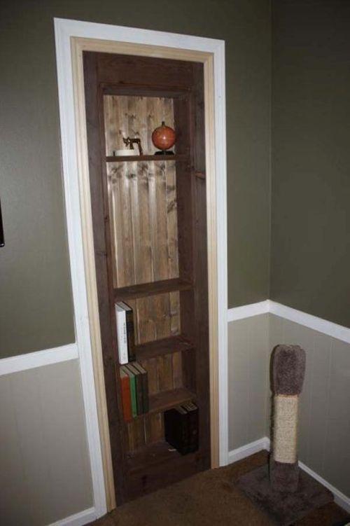 voici comment on fabrique une porte cach e l 39 assurance d 39 une vie meilleure ben m me pas. Black Bedroom Furniture Sets. Home Design Ideas