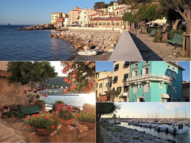 Marciana Marina: il lungomare, il borgo del cotone ed edifici del centro