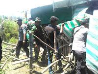 Personil Gabungan Danramil Donggo Gelar Patroli di Taman Nasional Tambora