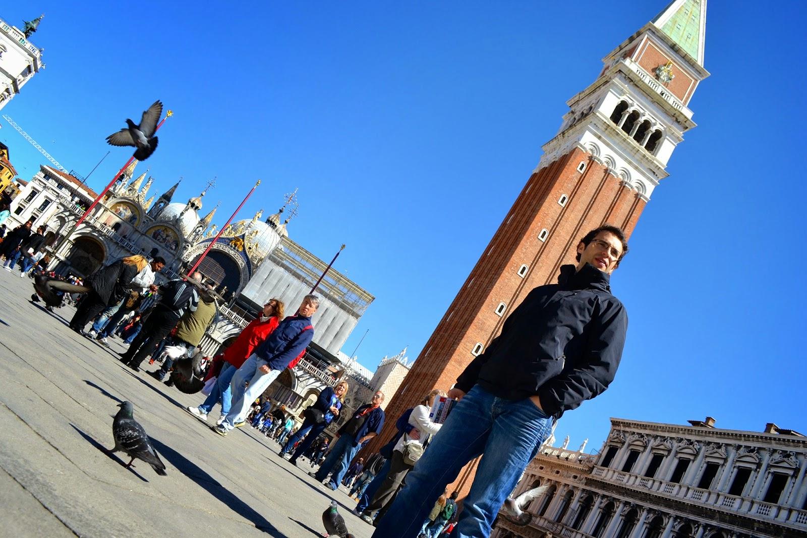 plaza san marcos venecia italia