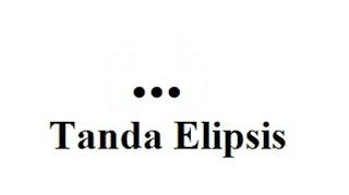 tanda elipsis