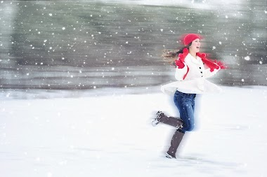 What do you need to run outside in the winter?