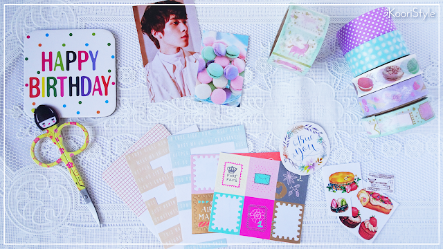 Koori, Style, KooriStyle, NCT, NCT2020, WayV, Journal, Hendery, Planner, Decoration, Decoración, Birthday, Bday, Cumpleaños, Stationery