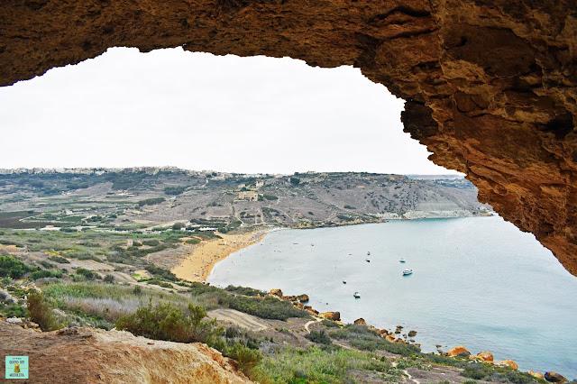 Tal Mixta Cave, isla de Gozo (Malta)