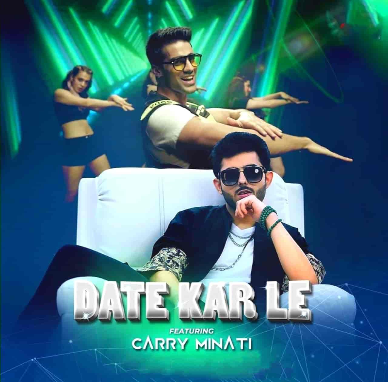 Date Kar Le Rap Song Image Features Carryminati