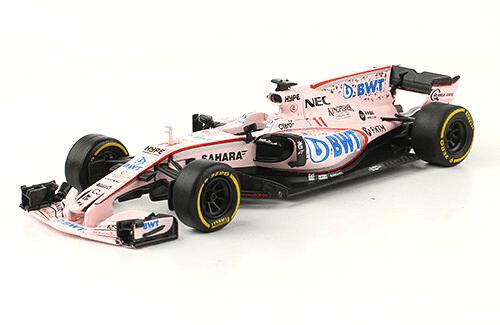 Force India VJM10 2017 Sergio Pérez 1:43 Formula 1 auto collection salvat