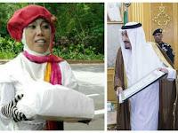 Unik Ya ANgasih Raja Salman Kado, Ibu Ini Diringkus Tim Penjinak Bom, Ternyata Isinya Barang Mahal