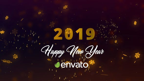 Videohive New Year 2019 Countdown 23089663