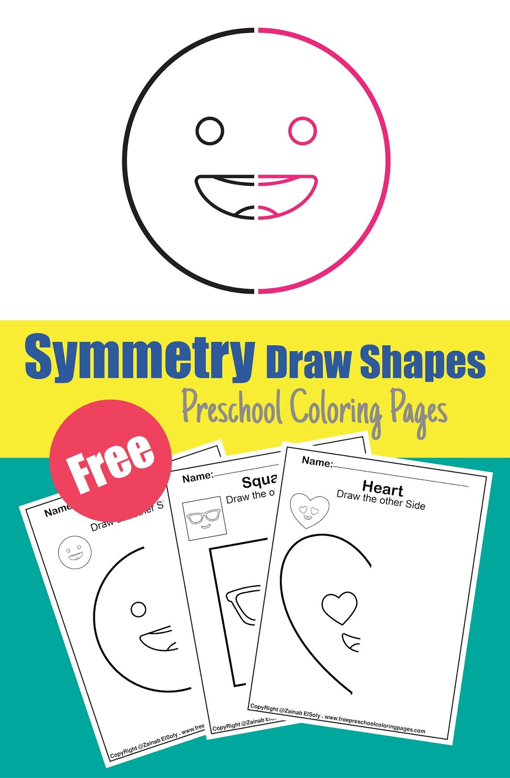 Symmetry Activity For Kids