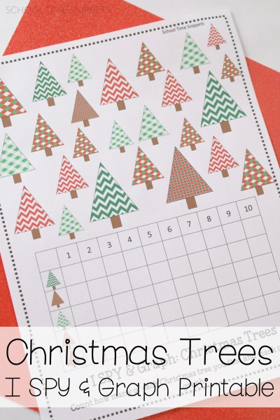 Christmas Maths Activities: Graphing Worksheet