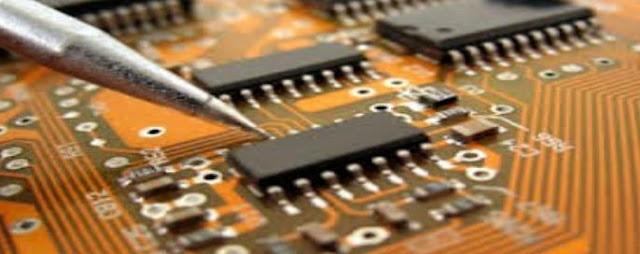 Hút ẩm nghành sản xuất linh kiện điện tử