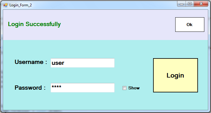 C How To Create Login Form In C With Mysql Database C Java