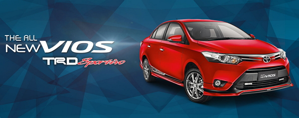 Spesifikasi Harga Toyota Vios Bandung