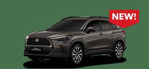 harga toyota Corolla Cross 2021