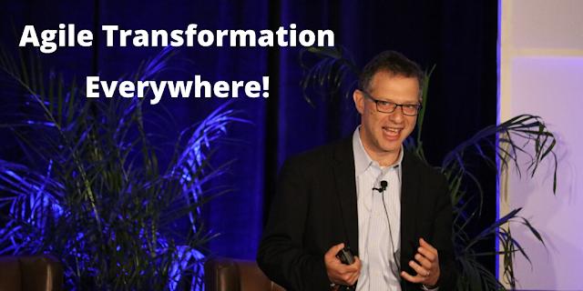 Agile Transformation Everywhere!