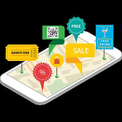 Ngoài ứng dụng, QR và vị trí là những cách quảng bá chương trình khuyến mãi cực kì hiệu quả