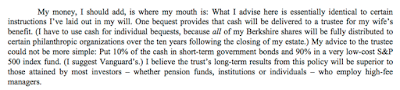 Warren Buffet 2013 Shareholders Letter