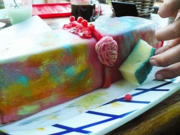 oefencake taart