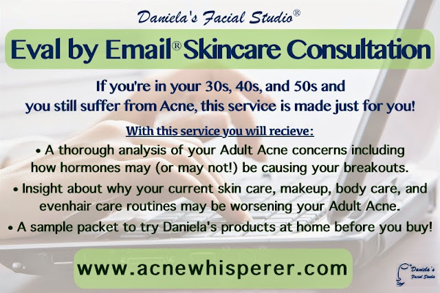 Virtual Skincare Coaching for Adult Acne Eval by Email