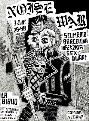 Noise War! Scumraid + Sex SDwarf + Infekzioa + Barcelona