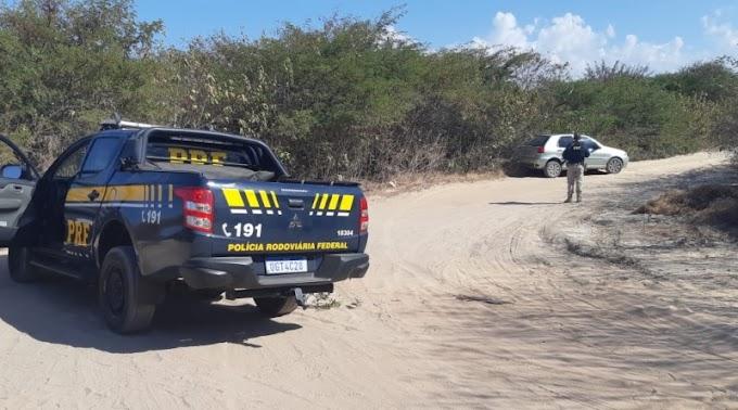 Veículo roubado minutos antes é recuperado pela PRF em Mossoró