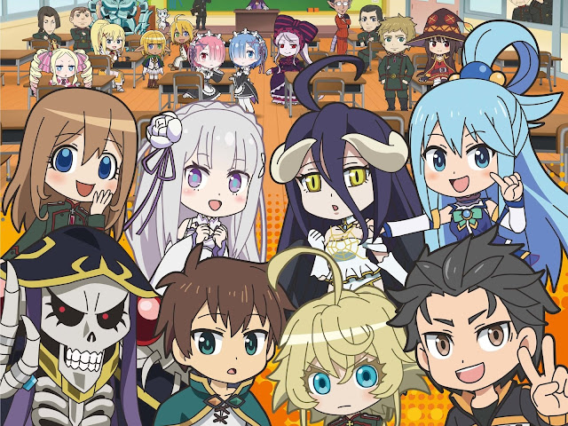 anime Isekai Quartet